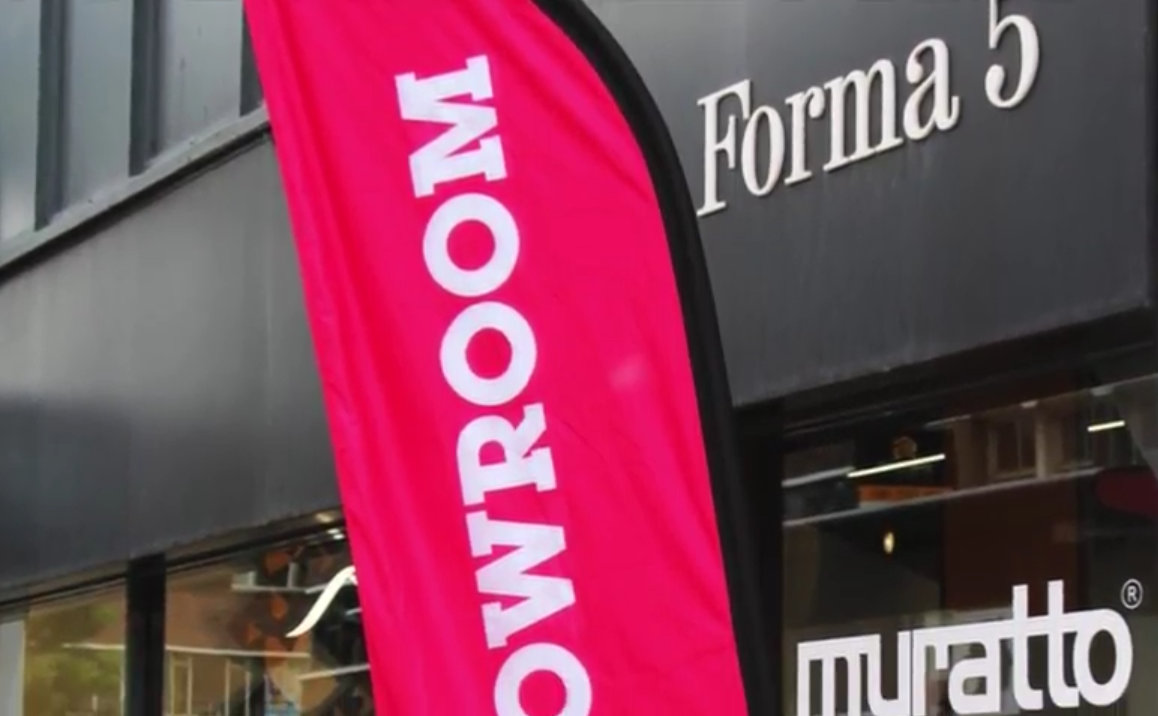Forma 5 and Muratto Showroom London